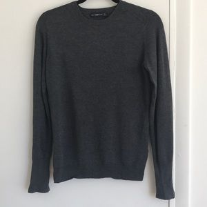 Grey Knit Zara Sweater